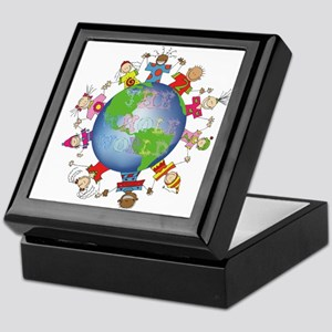 Hes Got the Whole World in His Hands Keepsake Box