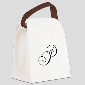 Champagne Monogram P Canvas Lunch Bag