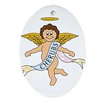 CHERUBS CDH Charity Ornament (Oval)