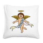CHERUBS CDH Charity Square Canvas Pillow