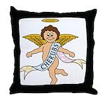 CHERUBS CDH Charity Throw Pillow