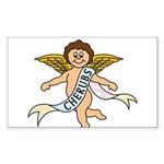 CHERUBS CDH Charity Sticker (Rectangle 10 pk)