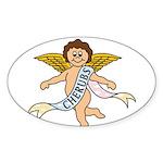 CHERUBS CDH Charity Sticker (Oval 10 pk)