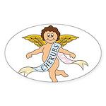 CHERUBS CDH Charity Sticker (Oval)
