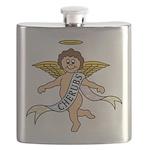 CHERUBS CDH Charity Flask