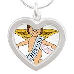 CHERUBS CDH Charity Silver Heart Necklace