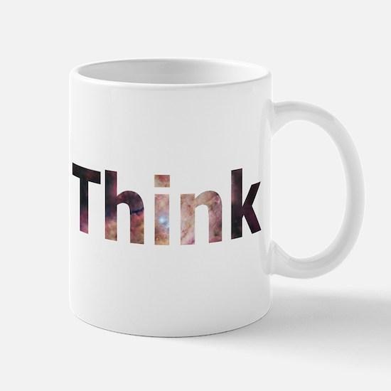 Think (galaxy themed) Mug