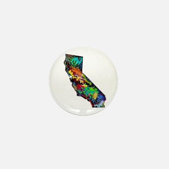 CALIFORNIA Mini Button