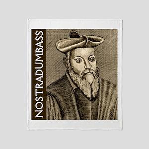 Nostradumbass Throw Blanket