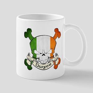 Dwyer Irish Skull Mug