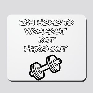 Gym Rules Mousepad