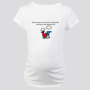 train Maternity T-Shirt