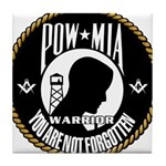 POW/MIA Brothers Tile Coaster