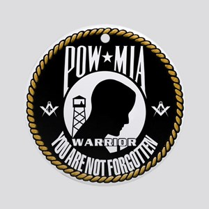 POW/MIA Brothers Ornament (Round)