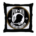 POW/MIA Brothers Throw Pillow