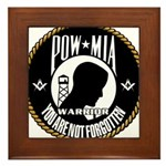 POW/MIA Brothers Framed Tile