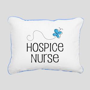 Cute Hospice nurse Rectangular Canvas Pillow