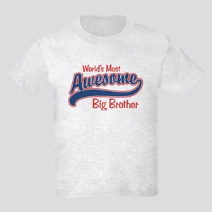 Awesome Big Brother Kids Light T-Shirt