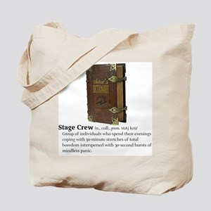 Actor's Dictionary Stage Crew Tote Bag