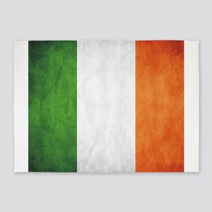 Irish Flag 5'x7'Area Rug