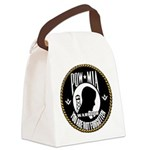 POW/MIA Masonic Canvas Lunch Bag