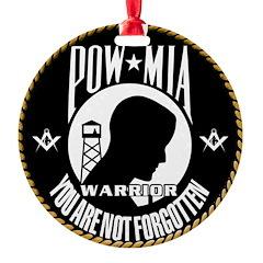 POW/MIA Masonic Ornament