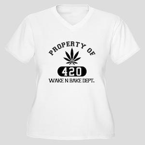 Wake n Bake Plus Size T-Shirt