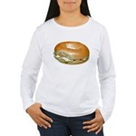 Bagel and Cream Cheese Women's Long Sleeve T-Shirt