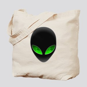 Cool Alien Earth Eye Reflection Tote Bag