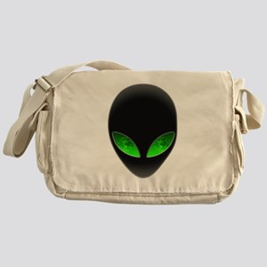 Cool Alien Earth Eye Reflection Messenger Bag
