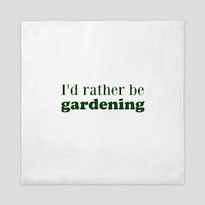 Gardening Queen Duvet