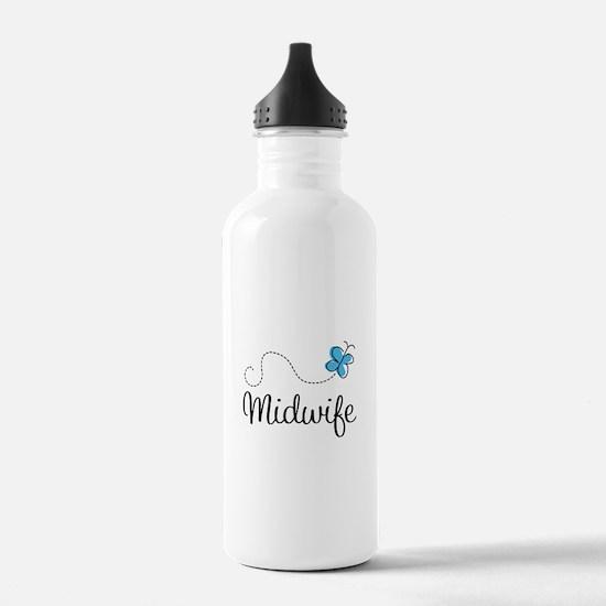 Cute Midwife Water Bottle