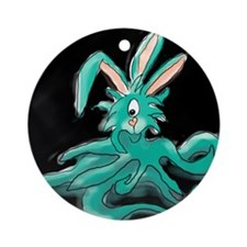 The Easter What?! Ornament (Round)