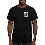Baldwin Men's Fitted T-Shirt (dark)