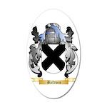Baldwin 35x21 Oval Wall Decal