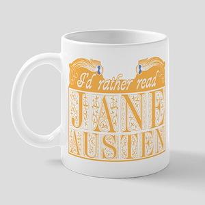 Read Jane Austen Mug