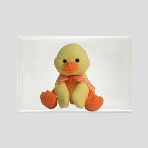 Plush Duck Rectangle Magnet