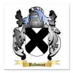 Baldovino Square Car Magnet 3