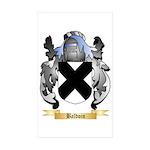 Baldoin Sticker (Rectangle 10 pk)