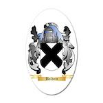 Baldoin 20x12 Oval Wall Decal
