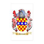 Baldock Sticker (Rectangle 50 pk)