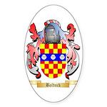 Baldock Sticker (Oval)