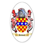 Baldock Sticker (Oval 10 pk)