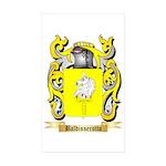 Baldisserotto Sticker (Rectangle 50 pk)