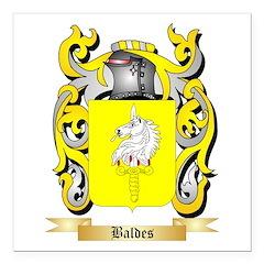 Baldes Square Car Magnet 3