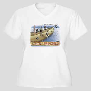 Pi_4 Pi-Rates (10x10 Color) Plus Size T-Shirt
