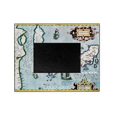 17th century map of Japan - Picture Frame