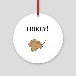 Crikey! Ornament (Round)