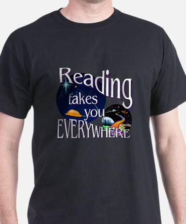 Reading Takes You Everywhere T-Shirt