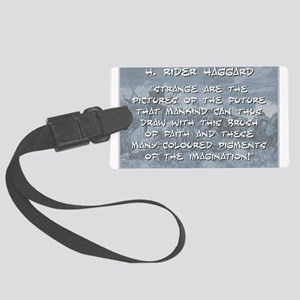 Strange Are the Pictures - Haggard Luggage Tag